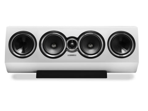 Sonetto Center II 3-way Speaker White