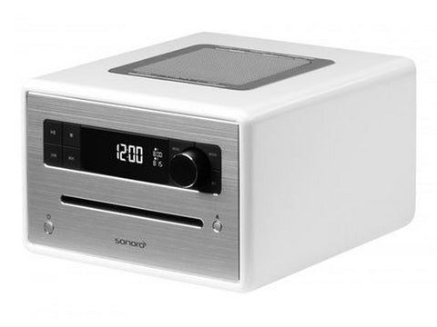 CD Player Digital Radio DAB+ White