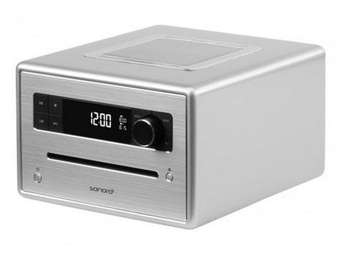 CD Player Digital Radio DAB+ Silver