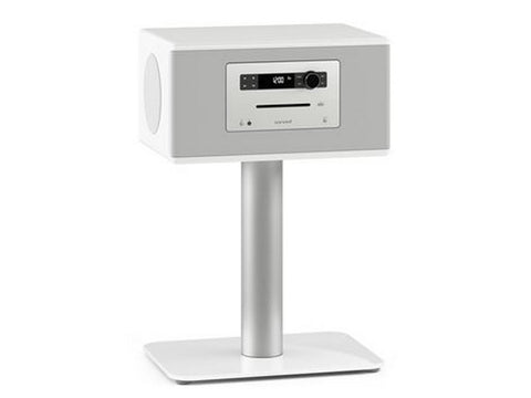 HiFi Sound System with Stand White