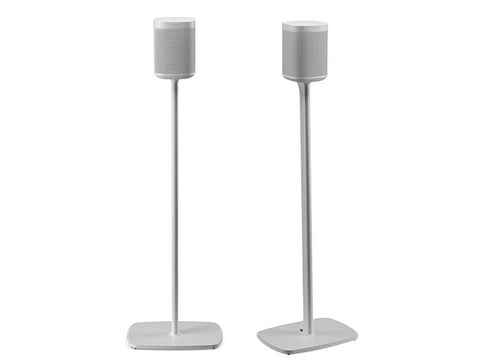 Sonos One Floorstand White Pair