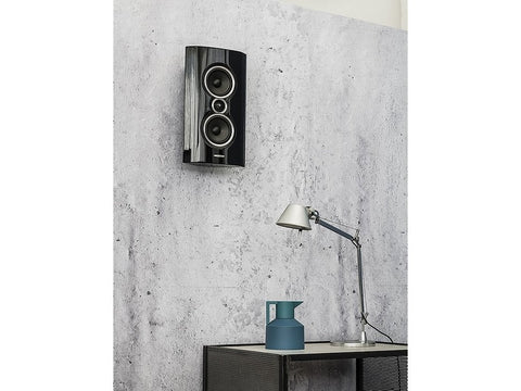 Sonetto Wall Speaker Single Black