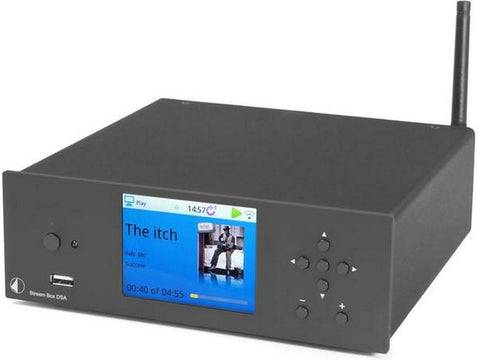 Stream Box DSA Integrated Amplifier Streaming Client Internet Radio Black