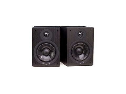 SX50 Two Way Bookshelf Speaker Pair Black