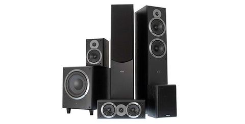 TEATRO BLACK 5.1 Ch Home Theatre System