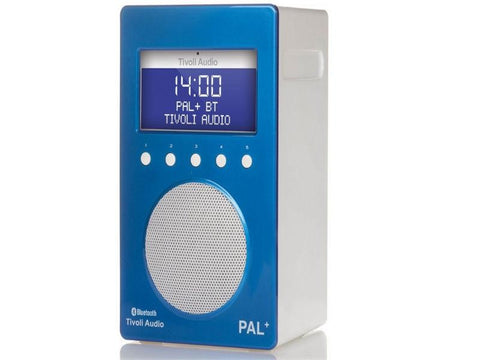 PAL+ BT DAB+/FM Portable Radio with Bluetooth Blue