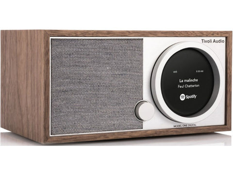 ART MODEL ONE DIGITAL:  AM/FM Radio DAB+ Wi-Fi / Bluetooth Walnut