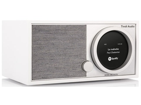 ART MODEL ONE DIGITAL: FM / DAB / Wi-Fi / Bluetooth Radio White
