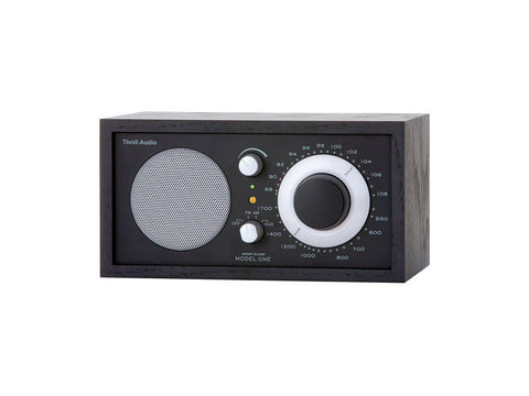 Model One Classic AM/FM Table Radio Black / Black / Silver
