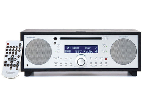 Music System+ FM/DAB+ Micro Hi-Fi System CD Player Bluetooth BLACK