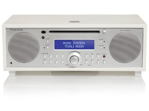 Music System+ FM/DAB+ Micro Hi-Fi System CD Player Bluetooth WHITE