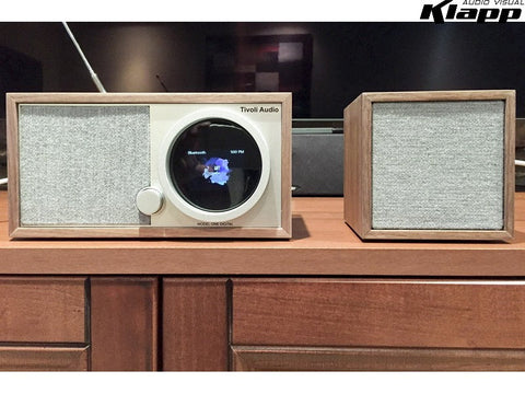 ART MODEL ONE DIGITAL + Cube Speaker Walnut