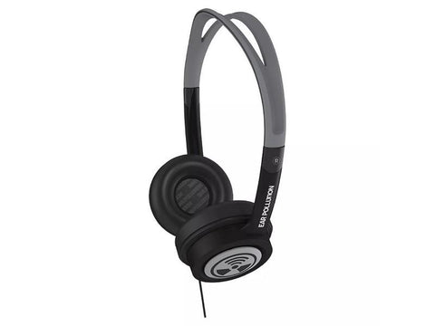 iFrogz Ear Pollution Toxix Wired Headphones Black