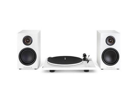 Triangle Elara LN01A Active Bookshelf Loudspeaker Turntable Pack