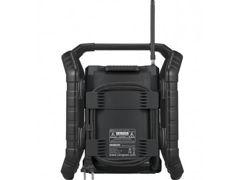 U4-DBTB Ultra RUGGED Portable Digital Radio Black