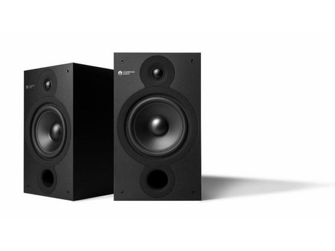 SX60 2-way Bookshelf Speaker Pair Matte Black