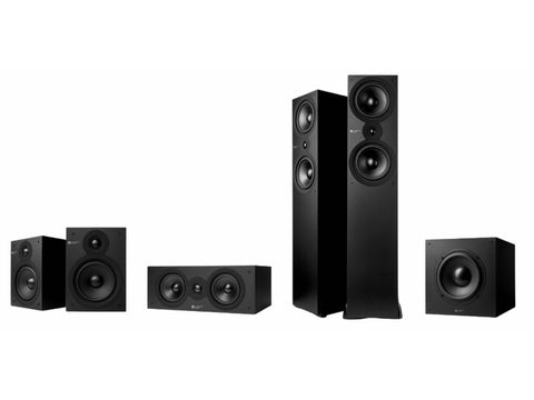 SX Series Surround Sound Package Matte Black