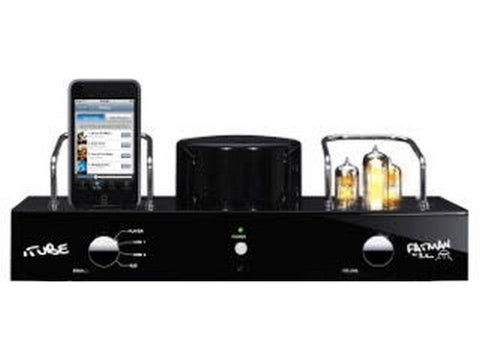 Fatman iTube Carbon MK2 Valve Amplifier Dock Black