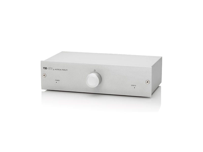 V90 AMP : Integrated Amplifier with DAC - Silver