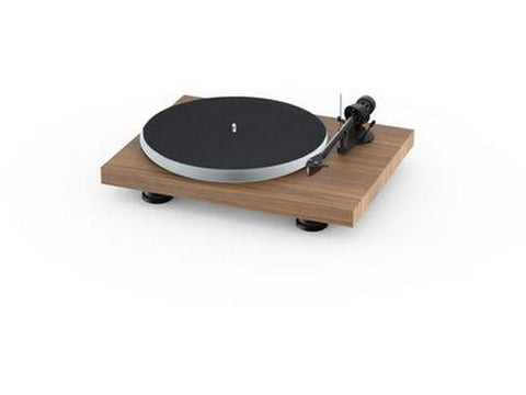 Debut Carbon Evo Acryl Turntable Walnut with Ortofon 2M Red Cartridge