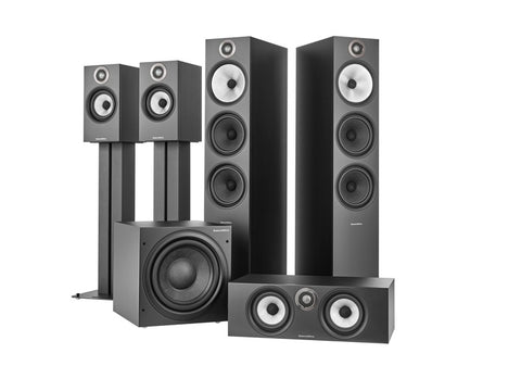 5.1 Theatre Pack S2 Anniversary Edition Matte Black 603 S2/HTM6 S2/ASW610/607 S2