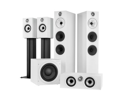5.1 Theatre Pack S2 Anniversary Edition Matte White 603 S2/HTM6 S2/ASW610/607 S2