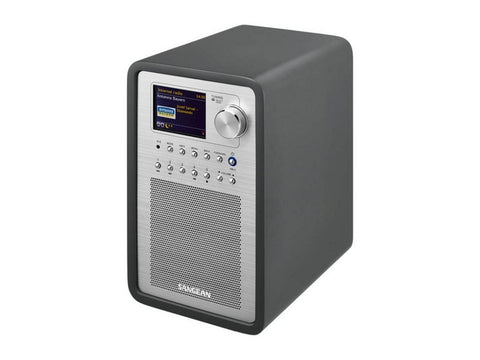 WFR-70 Internet Radio Network Music Player Black