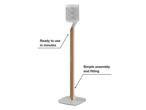 Flexson Premium Floor Stand For Sonos One One Sl And Play