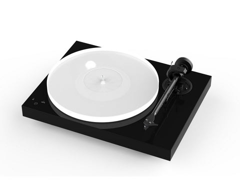 X1 Turntable Piano Black with pre-fitted Ortofon Quintet Blue Cartridge