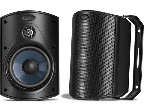 Atrium 4 All Weather Outdoor Compact Speaker Pair Black