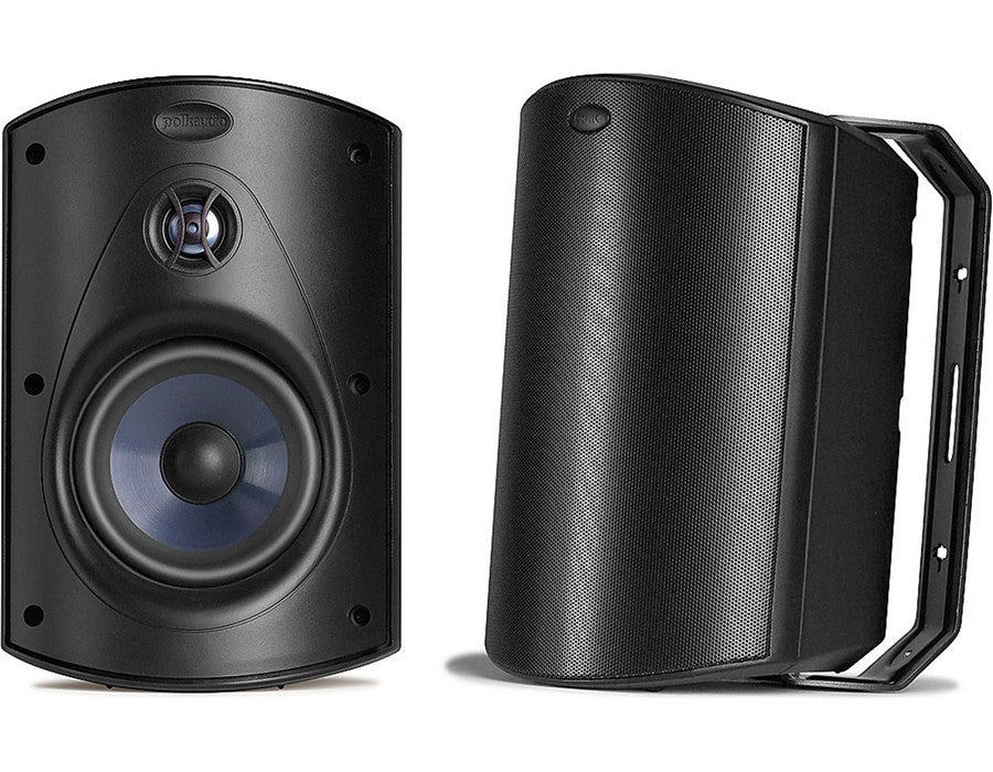 Atrium 6 All Weather Outdoor Speaker Pair Black