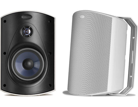 Atrium 6 All Weather Outdoor Speaker Pair White