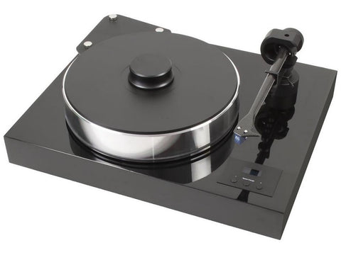 Xtension 10 Evolution Turntable Piano Black with Pre-fitted Quintet Bronze