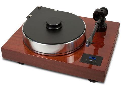 Xtension 10 Evolution Turntable Mahogany with Pre-fitted Quintet Bronze