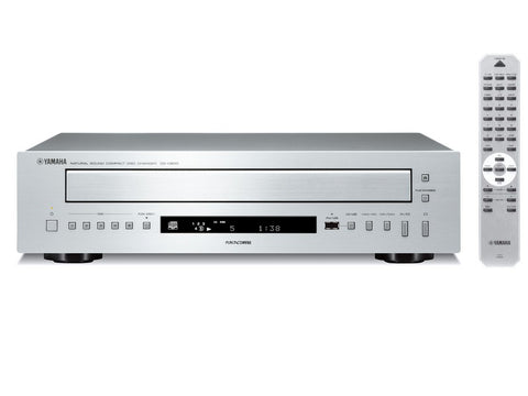 CD-C600 Five Disc CD Player Silver