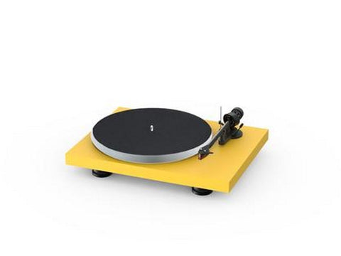 Debut Carbon Evo Acryl Turntable Yellow with Ortofon 2M Red Cartridge
