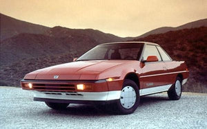 Al-sigh-uh-nee: Subaru's other sports cars were way ahead of the curve