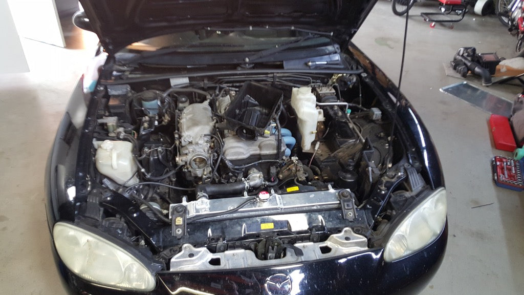 NB MX5 Supercharger Install – Mighty Car Mods