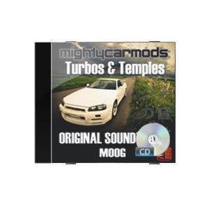 Turbos and Temples Soundtrack on CD