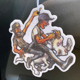 JDM Vanilla Goat Rider Air Freshener (single)