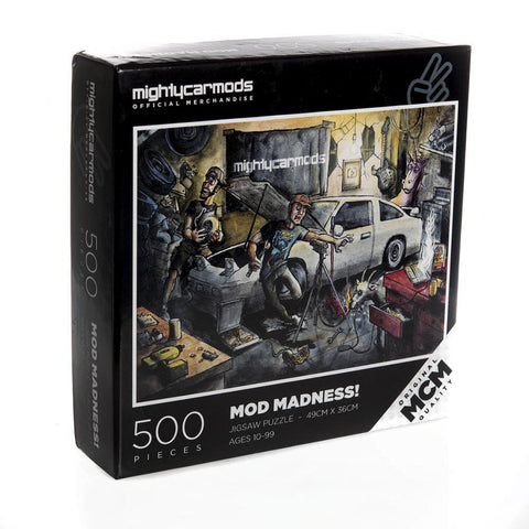 Mighty Car Mods Jigsaw Puzzle 500pcs