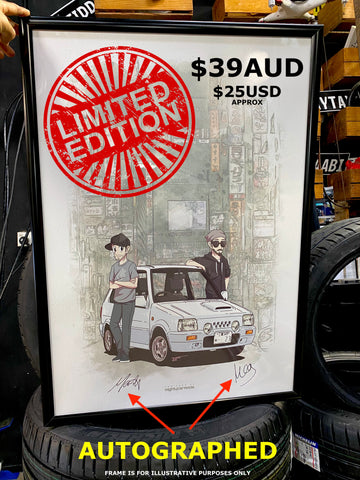 Limited Edition MCM Tokyo Poster [AUTOGRAPHED]