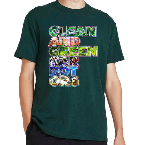 Clean and Green Car T-shirt