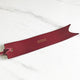 Wine Red - Leather Bookmark - Avaloncraftsg