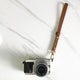 Cognac Brown - Camera Wrist Strap - Avaloncraftsg