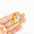 Rosette Mini (PAW) - Gold Mirror Acrylic Tag