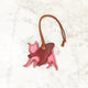 Pug - Custom Leather Bag Charm