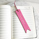 Barbie Pink - Leather Bookmark - Avaloncraftsg