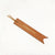 Cognac Brown - Leather Bookmark