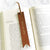 Cognac Brown - Leather Bookmark - Avaloncraftsg